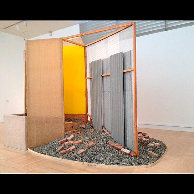 IMMA installation A copy of an installation called Nas Quebradas by the Brazilian deceased artist Helio Oiticica had been on show at the museum since July.