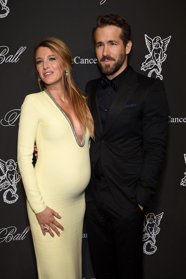 Actress Blake Lively (L) and Ryan Reynolds attend Angel Ball 2014 hosted by Gabrielle's Angel Foundation at Cipriani Wall Street
