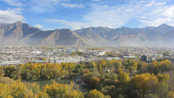 A view over Lhasa city, the capital of Tibet. Photo: Geraldine Gittens