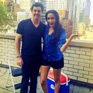 Rory McIlroy and Meghan Markle. Picture: Instagram