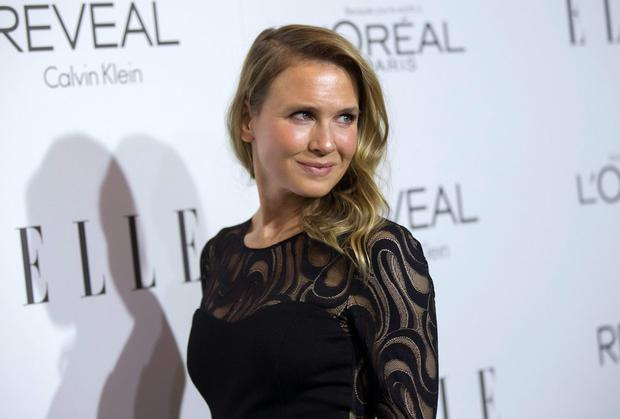 Actress Renee Zellweger poses at the 21st annual ELLE Women in Hollywood Awards in Los Angeles