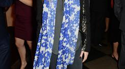Cressida Bonas attends an after party following the press night performance of