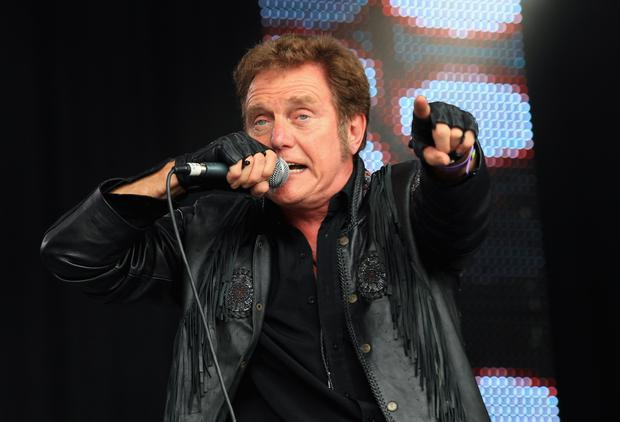 Singer Alvin Stardust performs on stage during Day 2 of the Vintage at Goodwood Festival. The 72-year-old singer died yesterday on the eve of a planned comeback tour. Photo credit: Chris Jackson/Getty Images for Vintage at Goodwood