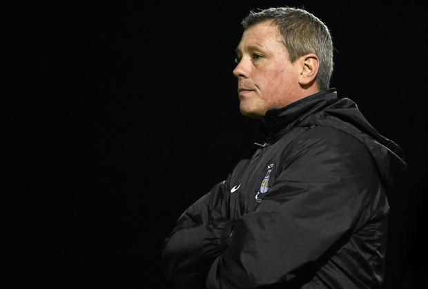 Athlone Town Manager Keith Long. Although they made a brave effort to stay in the Premier Division, the Westmeath club have been relegated after just one season back in the top-flight. Picture credit: David Maher / SPORTSFILE