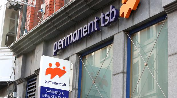 Permanent TSB bank on Grafton street, Dublin. Photo: Collins
