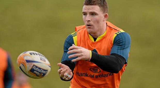Munster's Andrew Conway has been called up to Ireland training
