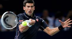 Novak Djokovic has now not lost an indoor match for more than two years. Photo: Dean Mouhtaropoulos / Getty Images