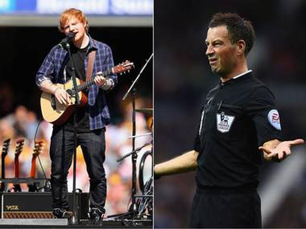 Referee Mark Clattenburg was dropped from last weekend's Premier League fixtures after breaching regulations in order to attend a pop concert.