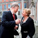 James Reilly and Frances Fitzgerald