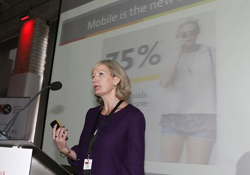 Speaking at the IAB Ireland Mobile Connect 2014 Event Suzanne McElligott CEO of IAB Ireland