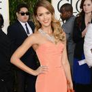 Actress Jessica Alba arrives at the 70th Annual Golden Globe Awards