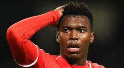 Daniel Sturridge suggested this week that his muscular problems may be hereditary. Laurence Griffiths/Getty Images