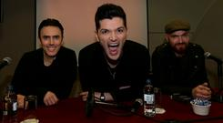 The Script who have announced that they are to play Croke Park next year