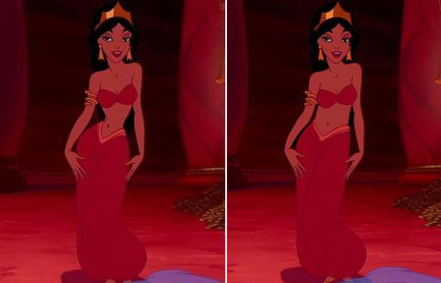 disney princesses given realistic bodies independentie