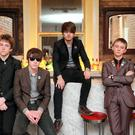 The Strypes at the Hopr Web Summit party at the No Name Bar on Fade Street, Dublin. Picture: Arthur Carron