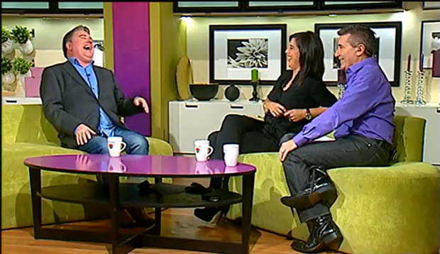 Pat Shortt appeared on Late Lunch Live today and said he had a great