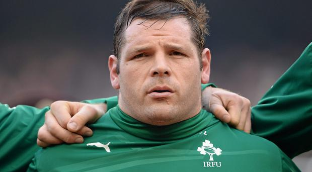 The availability of tighthead specialist Mike Ross for the November internationals remains crucial to Ireland's hopes of success. Photo: Brendan Moran / SPORTSFILE