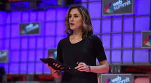Anne-Marie Tomchak at the Web Summit (Photo: Sportsfile)