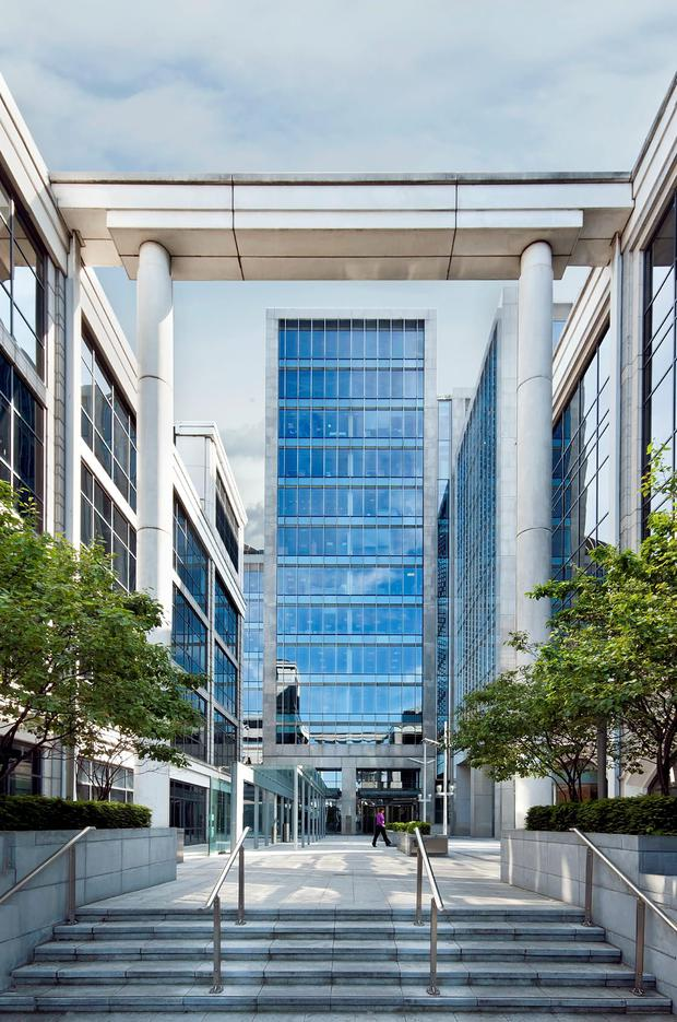 Aspen Pharmaceuticals have taken space at 1 George's Quay Plaza