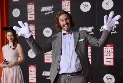 T.J. Miller attending the premiere of the film