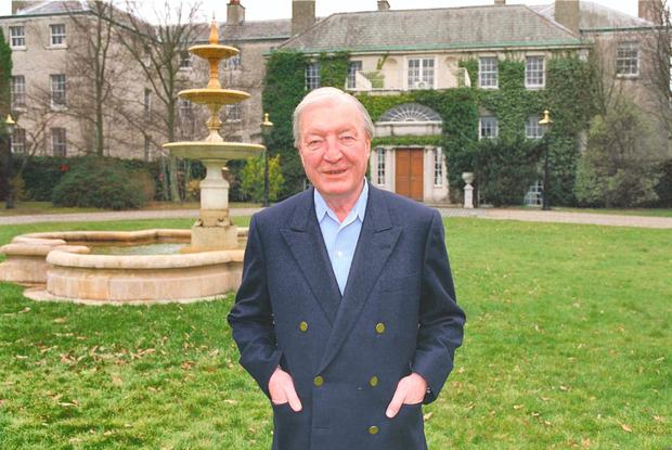 Charlie Haughey: his financial affairs were questioned