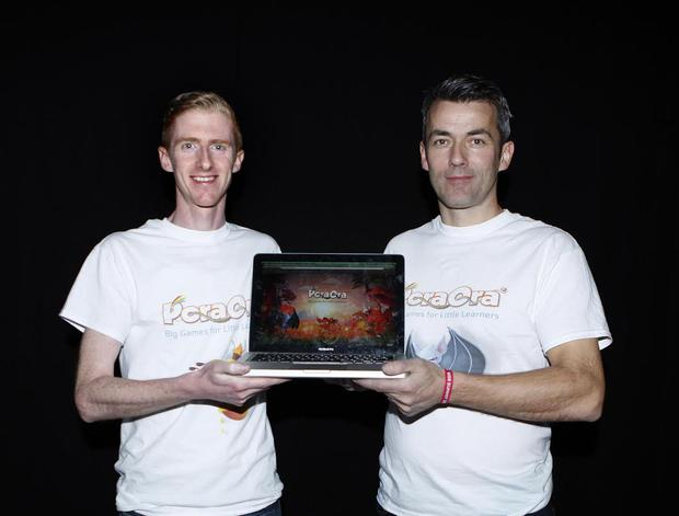 Caped Koala Studios io-founders Conor Murphy, from Glanmire in Cork, and Neil Gallagher, from Arranmore in Donegal.