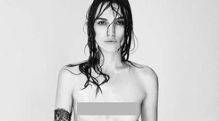 Keira Knightley photographed by Patrick Demarchelier for Interview magazine