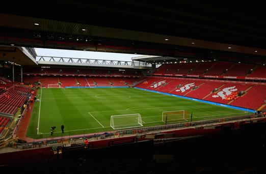 Anfield will host a rugby tournament