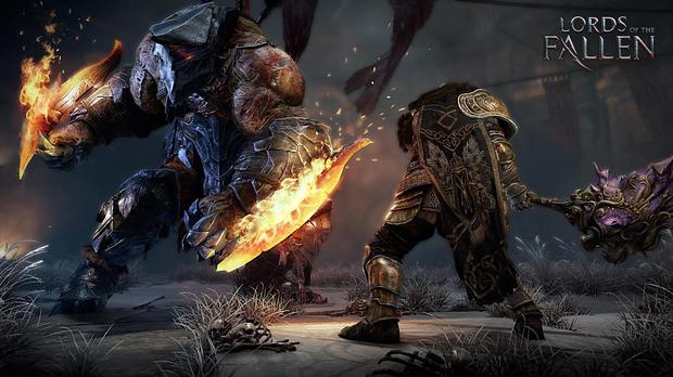 Lords of the Fallen: the bosses look intimidating but you just need to learn their patterns