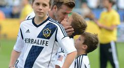 David Beckham's eldest reportedly given a short-term contract with the Premier League side