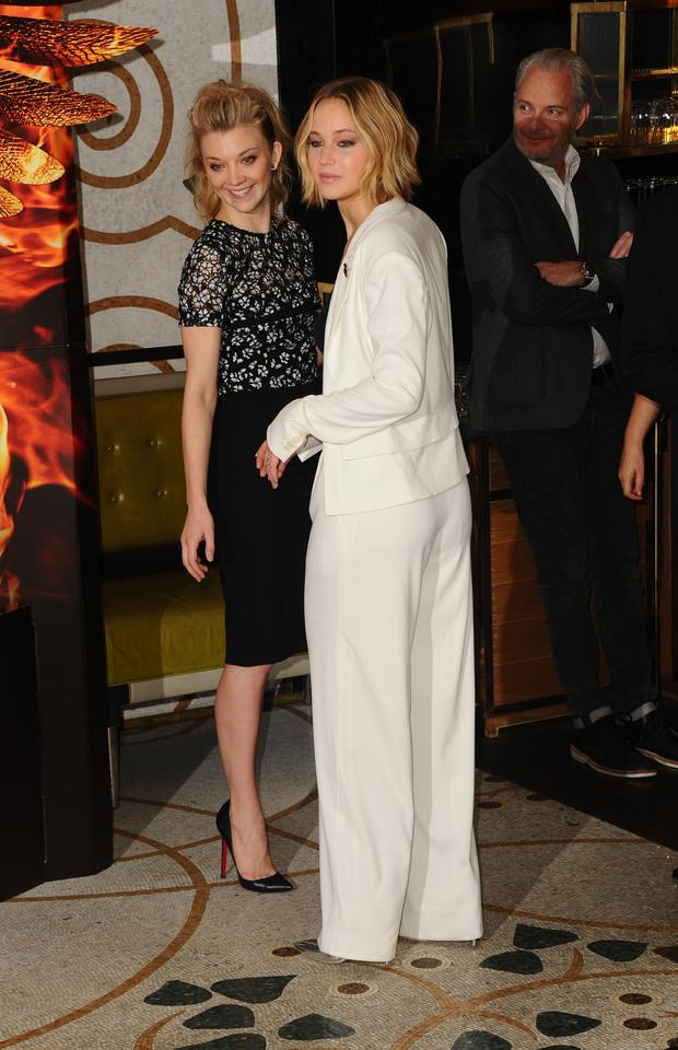 Jennifer Lawrence attends the photocall for