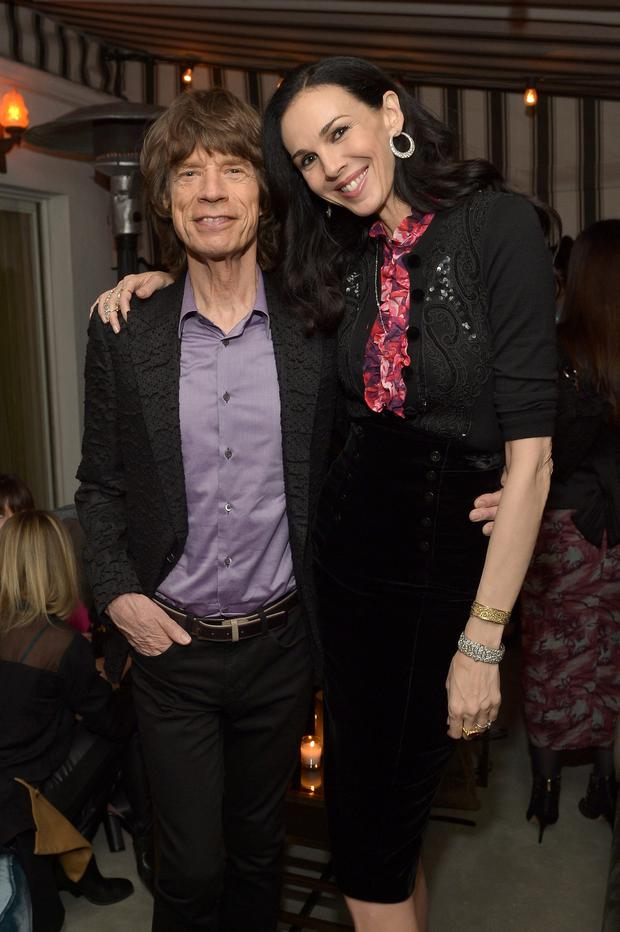 Mick Jagger with his late girlfriend L'Wren Scott. Photo: Getty
