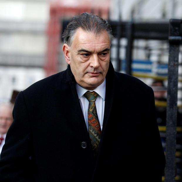 Ian Bailey arriving at court. Photo: Courtpix