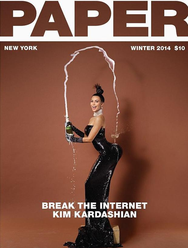 NSFW (seriously): Kim Kardashian bares her entire bum on magazine cover -  Independent.ie