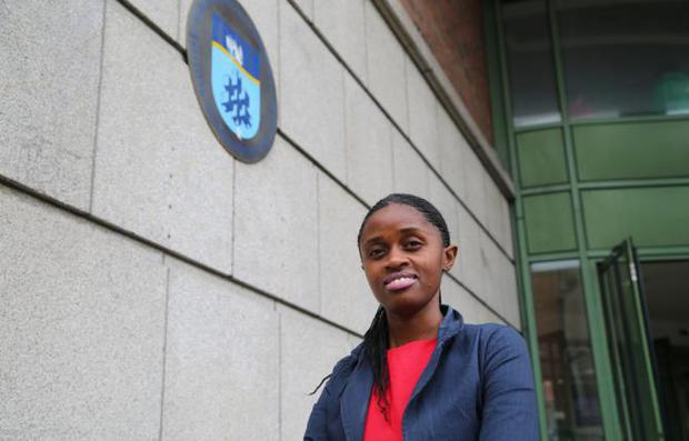Seraphine Habimana is now studying in Dublin