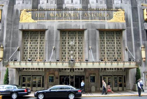 Anbang Insurance Group agreed to buy the Waldorf earlier this year