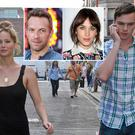 Jennifer Lawrence is pictured out in London with her boyfriend, English actor Nicholas Hoult