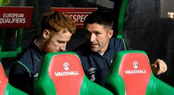 'Robbie Keane had to play a big part in the dressing-room, cajoling, encouraging and pretending to his team-mates that all was okay in his world, even if, deep down, that world had come crashing down.' Photo: David Maher / SPORTSFILE
