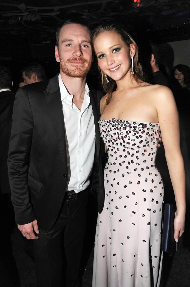 Michael Fassbender and...
