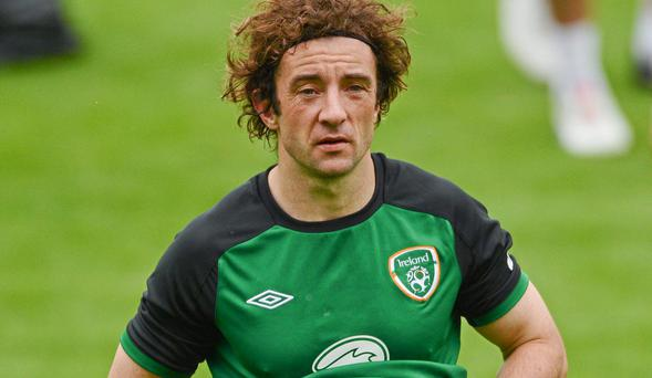 Stephen Hunt during his Ireland days