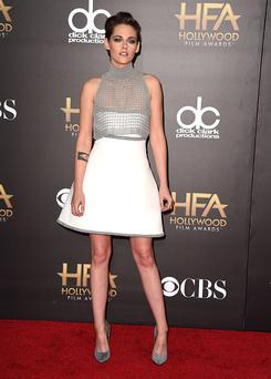 Kristen Stewart arrives at the 18th Annual Hollywood Film Awards at the Hollywood Palladium on November 14, 2014 in Hollywood, California. (Photo by Steve Granitz/WireImage)