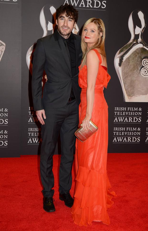 Guests at The IFTA 2012 Awards: The Red Carpet, The Convention Centre, Dublin, Ireland - 11.02.12.