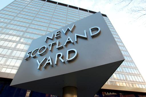 Scotland Yard: File photo