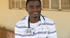 Dr Martin Salia died after contracting Ebola. Photo credit: AP Photo/United Methodist News Service, Mike DuBose, File