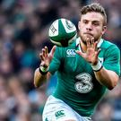 Ian Madigan will be on the bench in Rome