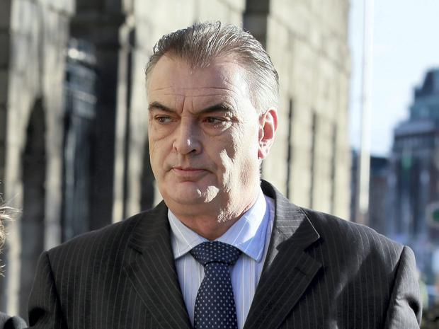 Ian Bailey pictured arriving at the Four Courts