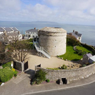 Martello Tower, Dalkey. Pic: Airbnb