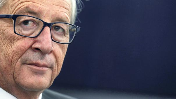 The President of the European Commission Jean Claude Junker has failed to insist that France and Italy stick to the fiscal rules of the EU. Photo: Reuters