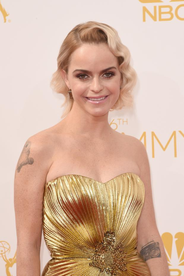 Actress Taryn Manning attends the 66th Annual Primetime Emmy Awards