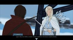 Strong characters and dialogue choices are at the heart of Banner Saga